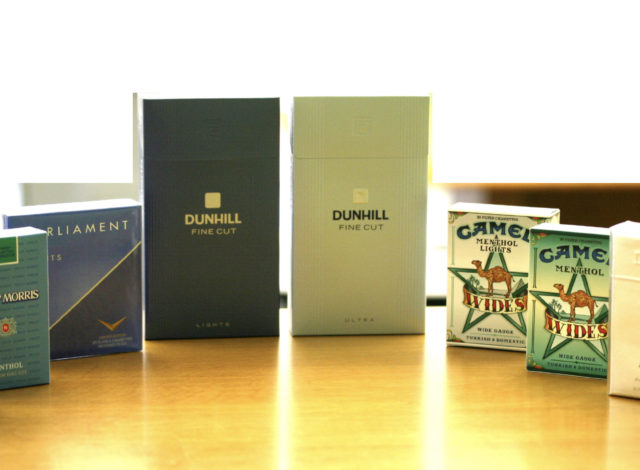 Cigarettes Packaging